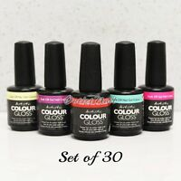 Artistic Nail Design Colour Gloss Set Of 30 Colors Gel Polish Lot Kit > Ship 24h
