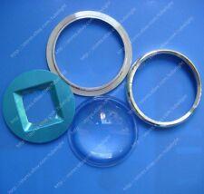 67mm Lensaluminum Ringreflector For 20w 30w 50w 60w 100w 120w High Power Led