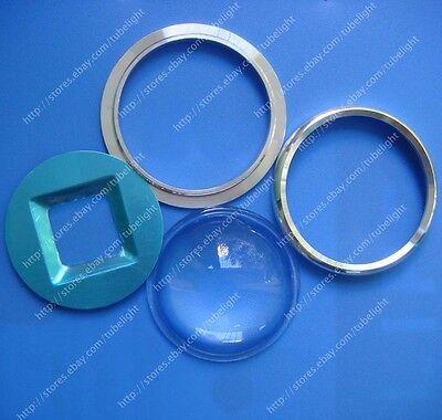 67mm Lens+Aluminum ring+Reflector for 20W 30W 50W 60W 100W 120W High Power Led