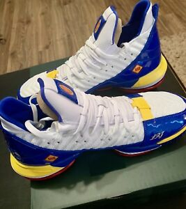 "636005ed6b4 NIKE LEBRON XVI 16 SB SUPERMAN THEMED ""SUPERBRON"" CD2451-100 White ..."