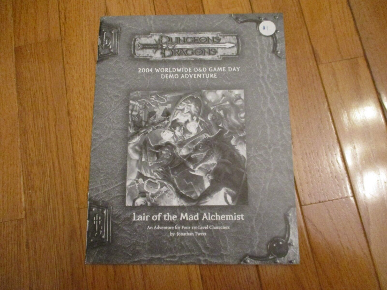 D&D D20 WOTC Liar of the Mad Alchemist 3rd Edition