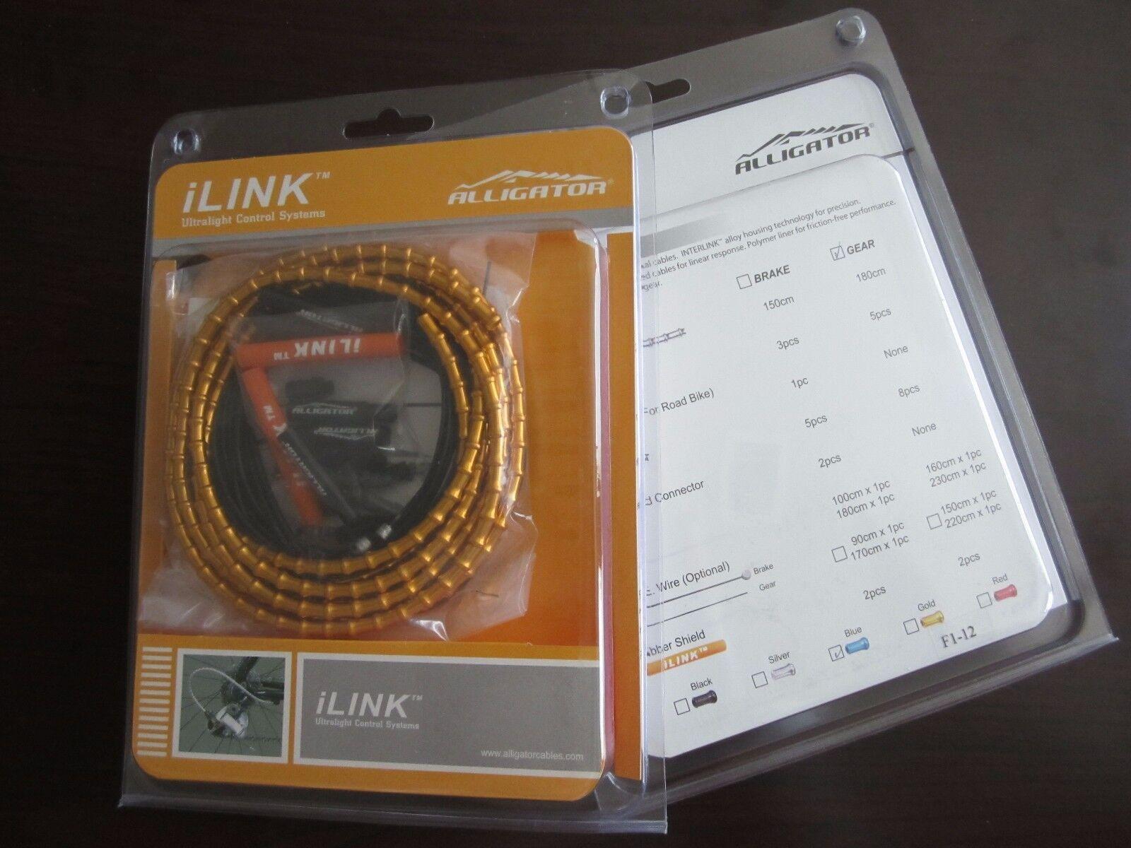 New Alligator ILink cable set kit, 5mm, SHIFT GEAR  oro vs Nokon