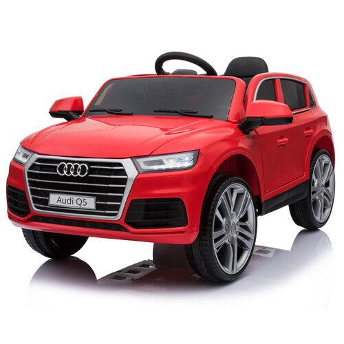 Der neue Audi Q5 quattro Kinderauto Kinderfahrzeug Kinder Elektroauto 12V Rot