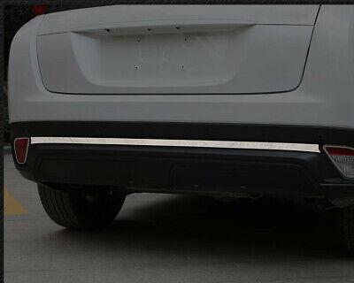 Edelstahl Hinten Bumper Deckel Cover Trim 1 Für Mitsubishi Eclipse Cross 18 - 19
