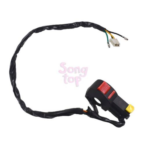 Electric Start Stop on off Button Kill Switch Motorcycle Dirt ATV Quad Bike