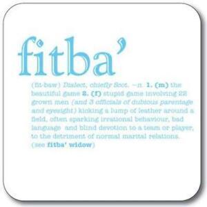 Custom-Works-Scottish-Dialect-Slang-Coaster-039-Fitba-039