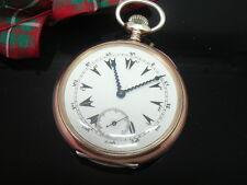 Silver Zenith Pocket Watch, Antique, Turkish Market