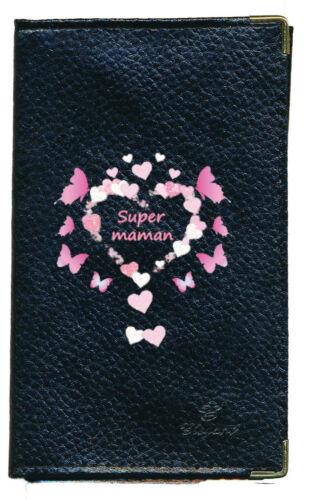 Porte Chequier compagnon porte monnaie porte carte grise Super Maman Fete meres