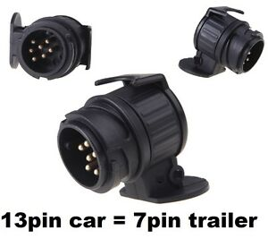 13-pin-to-7-pin-TRAILER-TOWBAR-TOWING-SOCKET-ADAPTOR-PLUG-CONVERTER