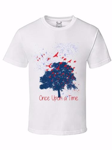 NEW MEN/'S PRINTED TREE BIRDS VINTAGE HIPSTER GRAPHIC DESIGN FUNNY MMA T-SHIRT