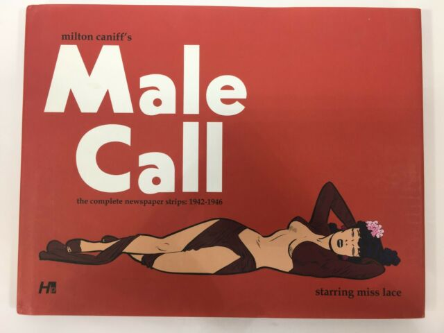 Milton Caniff's Male Call 2011 HC Complete Newspaper Strips 1942-1946 Miss Lace