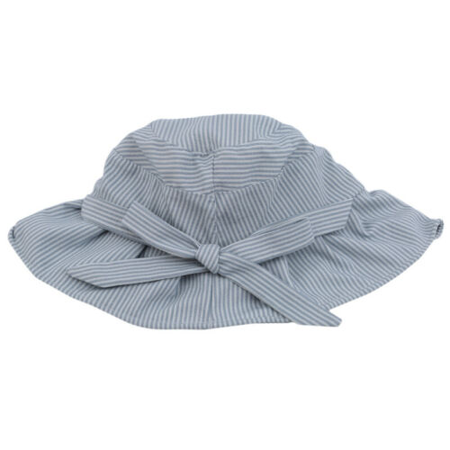 Women Elegant Bow Tie Bucket Hat Cotton Outdoor Camping Sun Protect Cap CB