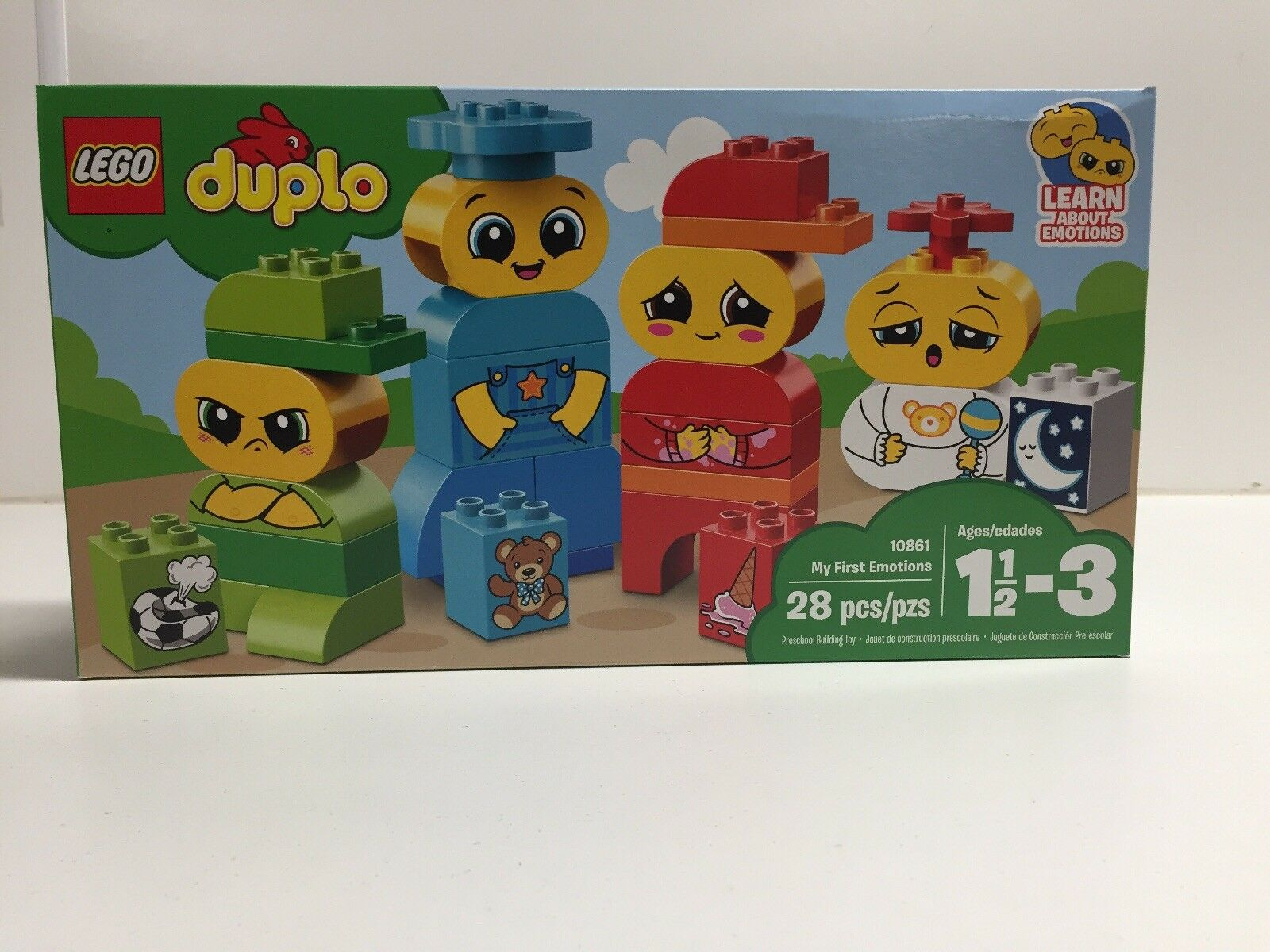 NEW NIB LEGO Duplo 10861 My First Emotions NISB Factory Sealed