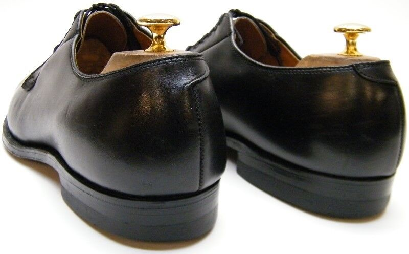 Herren VINTAGE ALDEN 655 BLACK LEATHER OXFORD DRESS Schuhe SZ 11.51/2 D 7757f0