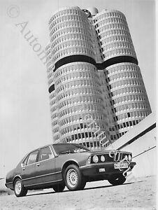 Auto & Motorrad: Teile Automobilia Zielsetzung 1984 Bmw 7er E23 Pressebild Press Factory Picture Werkfoto Original..