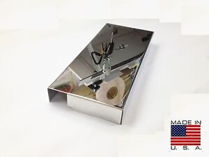mustang chrome 2005 2009 polished stainless fuse box cover. Black Bedroom Furniture Sets. Home Design Ideas
