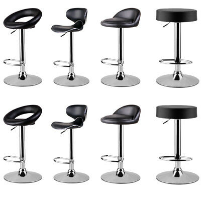 innovative design 662a0 cfa74 Pair of Bar Stools Kitchen Breakfast Bar Stool Pub Counter Lift Chair  Barstools | eBay