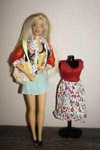 Vintage Retro Barbie Doll Job Lot Bundle With Extra Clothes Mattel Swimwear Ebay