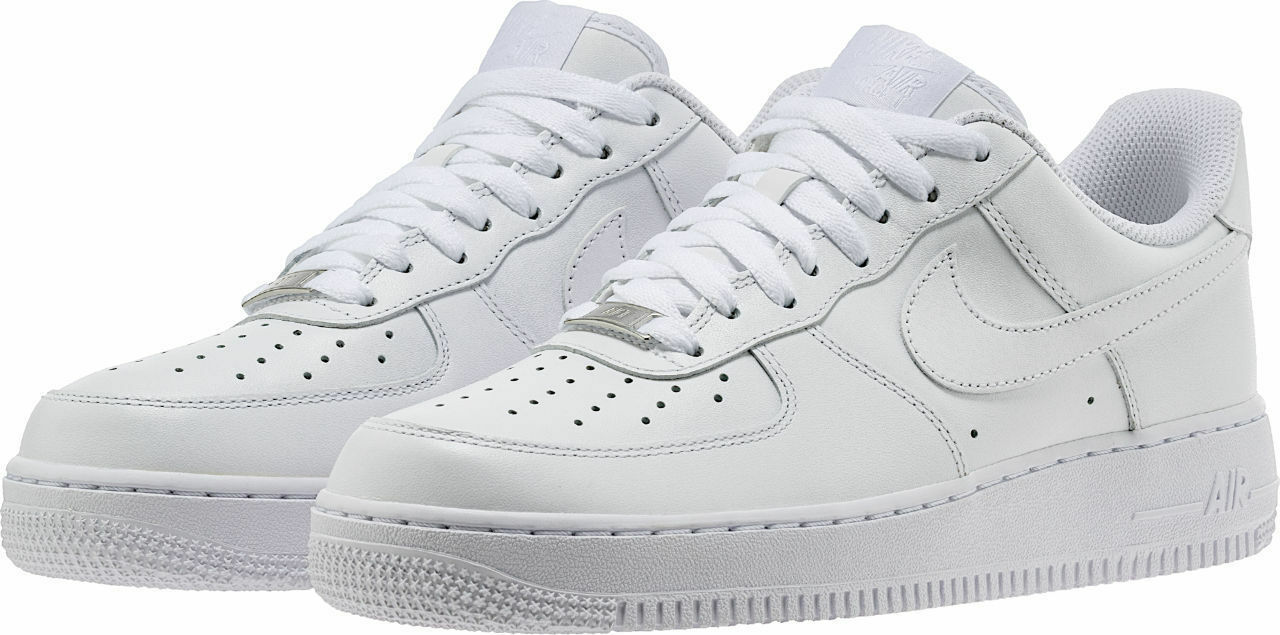 Nike Men's Air Force 1 Sneakers - Size 10.5 US, White