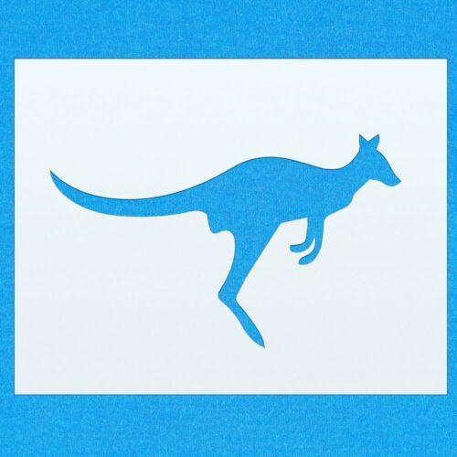 Kangaroo Australian Animal Mylar Airbrush Painting Wall Art Crafts Stencil 4