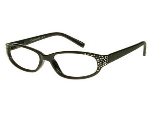 efc980fdfce Image is loading Genevieve-Ladies-Reading-Glasses-in-BLACK-by-Good-