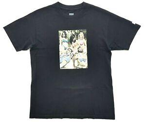 Huf Cheech And Chong Nice Dreams Tee Black Size M Mens T-Shirt