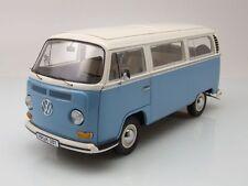 VW T2 a Bus 1967 - 1970 blau/weiß, Modellauto 1:18 / Schuco