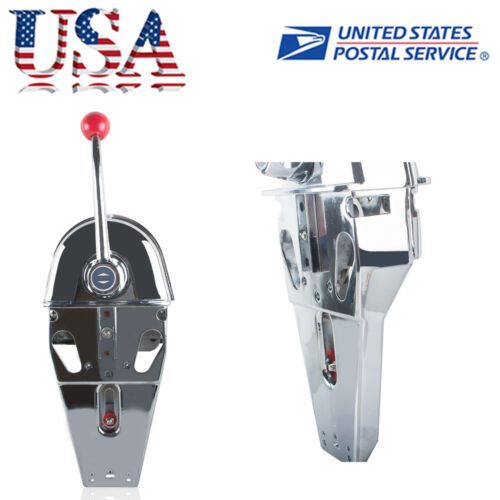 Universal Boat Single Control Lever Marine Engine Outboard Control Handle USA