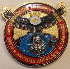 1st FAST 3rd PLT Fleet Antiterrorism Security Team Marine Challenge Coin