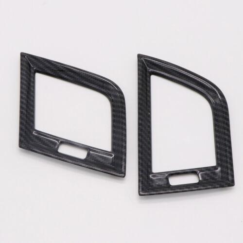 Carbon Fiber ABS Interior Side Air Condition Vent Cover Trim for Audi Q5 FY 2018