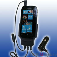 Carcomm Power Cradle For Nokia Lumia 710 Car Charger Kit With Antenna Coupler