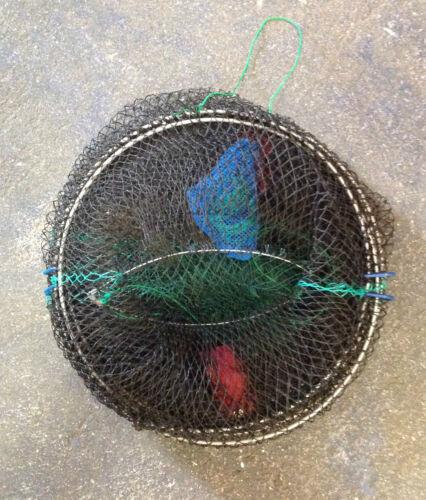 LOBSTER CRAB PRAWN CRAYFISH EEL TRAP POT EXPANDABLE SEA FISHING TACKLE STORM