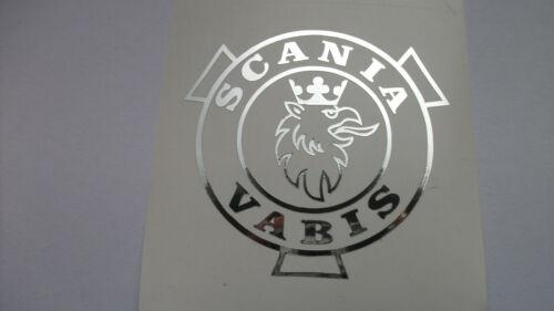 2 SCANIA Outline Greif VABIS Folien in 1:14,5 für Fahrerhaus in 1:14,5
