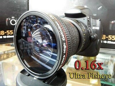 New Ultra Wide Angle Macro Fisheye LENS FOR Canon 40D 4D 30D 20D 650D 600D 7D 6D
