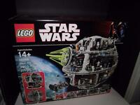 Lego - Star Wars - Original Death Star - 10188 -sealed - 3803 Pieces Retired