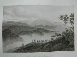 Grabado Batalla de Montenotte 11 Abril 1796 Bagetti Skelton Gavard