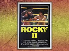 Original Movie Poster Rocky II 100x140 cm Sylvester Stallone