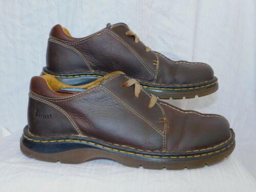 m Oxford Sz schoenen Lederen 10 DrMartens bruine c3L54RjqA