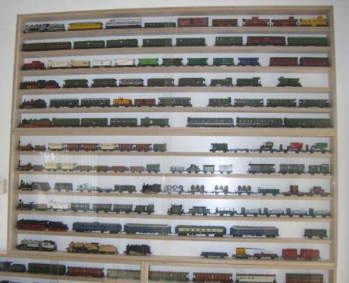 VitrinenSchmidt® Spur N Vitrine Modelleisenbahn Breite 60cm-170cm große Auswahl
