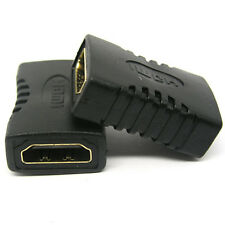 1080P Female-Female Gold Coupler Joiner Converter HDMI Cable Extension Adapter