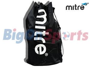 MITRE-12-FOOTBALL-BALL-NYLON-CARRY-SACK-BAG-HOLDALL-H6028