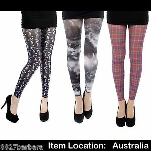New-Women-039-s-Plus-Size-22-24-26-28-Printed-Tights-Pantyhose-Stockings