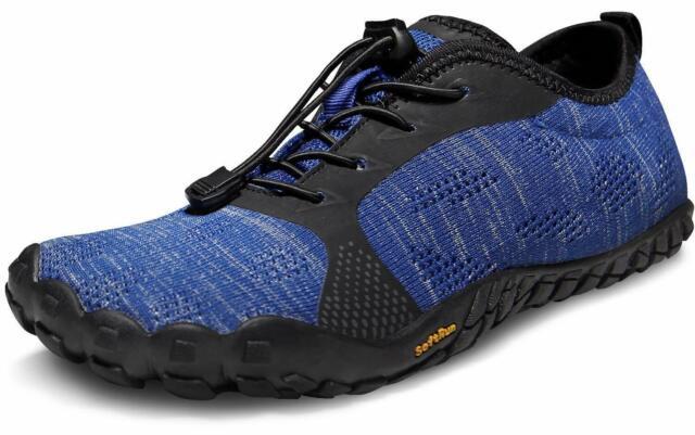 new product 40d6b 1dac5 TSLA Men's Trail Running Minimalist Barefoot Shoe BK30 / BK40