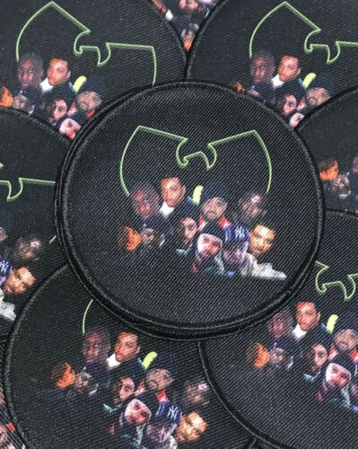 Wu-Tang Clan Patch Method Man ODB RZA Gza Ghostface Raekwon 36 Chambers 90s rap
