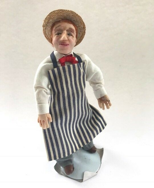 Butcher By Sally's Little People  1 1 1 12th Scale  Handcrafted & OOAK 9d5fd9