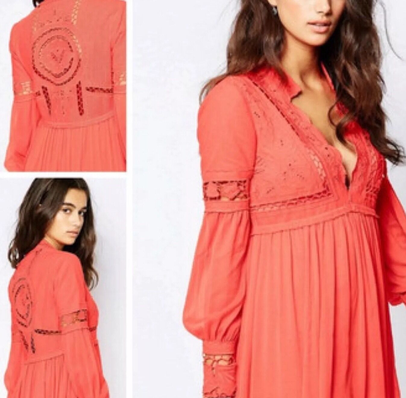 Free People Dreamland Mini Dress Größe 2