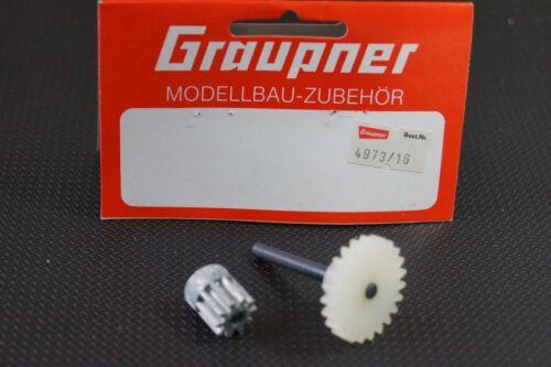 Graupner Kyosho 4973//16  Zahnradset Getriebe Renault Alpine  neu+ovp 80er Jahre
