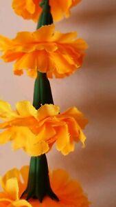 5-feel-long-Indian-Marigold-Garlands-Flower-Garland-Indian-Wedding-Flowers-1pc