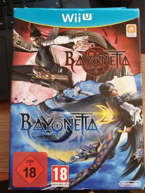BAYONETTA 1 & 2 SPECIAL EDITION - NINTENDO WII U WIIU - PAL ESPAÑA - BAYONETA