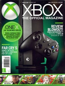 Details about The Official Magazine XBOX Holiday 2017 Review Blowout ONE X  Far Cry 5 Sims 4